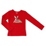Janey bambi shirt rood