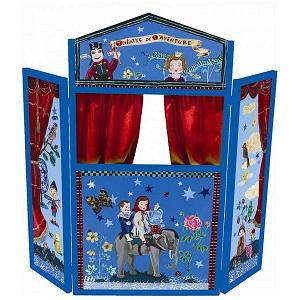 Houten poppenkast 2 Donk-Toyshop