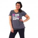 PIXIE sportshirt Makes you Happy Unlimited Sportswear