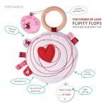 Flipity flop sensory toy ob design power of love