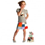 Janey Kidswear rokje met t-shirt collectie 2013