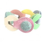 Loopz armband colours spring