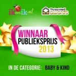 IKenIK winnaar publieksprijs 2013