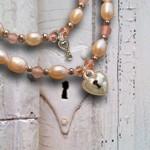 KAYA sieraden - Moeder dochter armbandjes Key to my Heart Fleur'