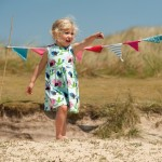 Frugi birdies party dress - Kleine Jurkjes