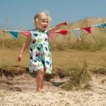 Frugi birdies party dress - Kleine Jurkjes