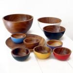 traza world design - houten schaaltjes