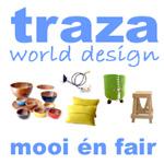 traza world design logo