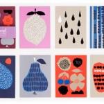 Hippest Shop Indie-ish - harvest-postkaarten-set-darling-clementine