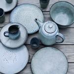 Nordic blues aardewerk - Cotton and Stones
