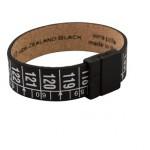 Il Centimetro armband New Zealand Black - Pintz.nl
