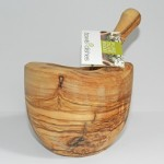 Olivewood vijzel ALL4KITCHEN.NL