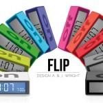 Wekker Flip reddot - lexon-design.nl