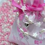 zilveren moeder dochter sieradenset Sparkling Star -sfeerfoto met muisjes