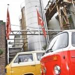 event webshop till you drop - locatie De Fabrique - oktober 2013 - 2de editie - pendel VW-busjes