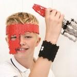 plus-dealer - Plus-Plus speelgoed - Boy air racket