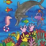 De dolfijn met sproeten - voorkant - hardcover