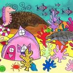 Huis met koraal - De dolfijn met sproeten