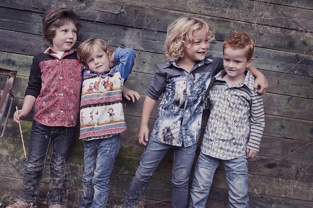 Stoere Kinderkleding.Persbericht Persbureau Stoere Handgemaakte Blouses Voor Jongens