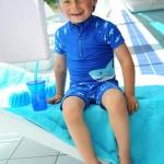 Playshoes UV zwemset Shark - Slipperwereld