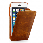 Tetded premium leather case - apple iphone 5-5s troyes