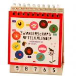 Zwangerschap aftelkalender voor broertjes en zusjes - Babyshop at Home