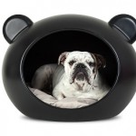 Dog Cave medium - zwart - Duurzaam Dier