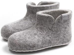Vilten kinderslof Boots Grey - esgii