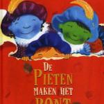 Cover Titel van het kinderboek 'De Pieten maken het Bont'