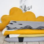 Grijs oker dekens kussen van Studio Blomm - GrachtenPracht