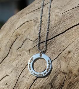 Words of Love zilveren ketting - KAYA Sieraden