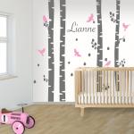 DecoDeco muursticker met naam Lianne