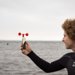 Vaavud smartphone Mjolnir Windmeters - Perfect Wind