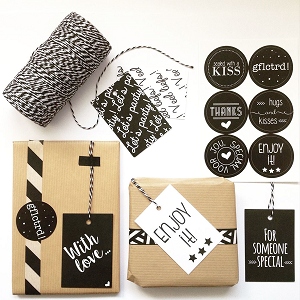 Zoedt stationary - cadeaulabels en stickers