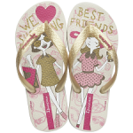 Slippers Ipanema Classic Kids gold - Slipperwereld
