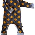 Jumpsuit Stars GreyOrange - Puur Sammy's