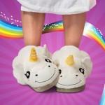 Eenhoorn pantoffels - CoolGift.com