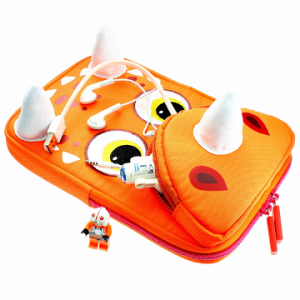 TabZoo Triceratops Dino Orange tablet sleeve 2