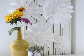 papieren bloem - be-flowerd