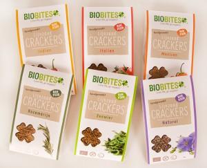BioBites lijnzaad crackers