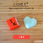I love K - Konjac spons van Indemne - Yaviva