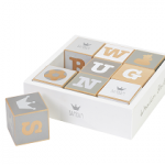 Blokkendoos - Wooden ABC blocks - BAMBAM