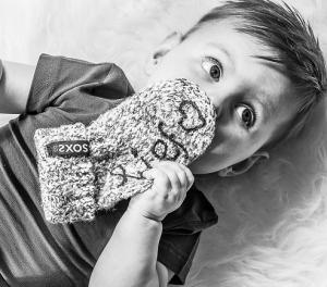 Geitenwollen baby- en kindersokken antislip - www.soxsco