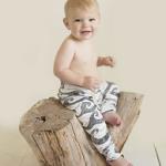 Legging black waves - Little King Arthur