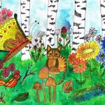 Boek zingen is gaaf - herfstbos met kat - Droomvallei Uitgeverij