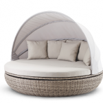 Cardiff Lounge White Pepper Warm Grey - Tuinmeubelen.nl