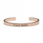 Bangle armband rose - Proud MaMa