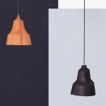 Lederen hanglamp LLOYD bruin en zwart - PUIK Art
