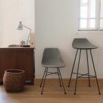Lyon Beton Hauteville stoel en kruk - Stas Home Deco