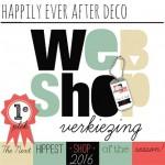 Happily Ever After Deco - webshopverkiezing 2016 - HippeShops.nl